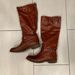 Dolce Vita Brown Leather Boots